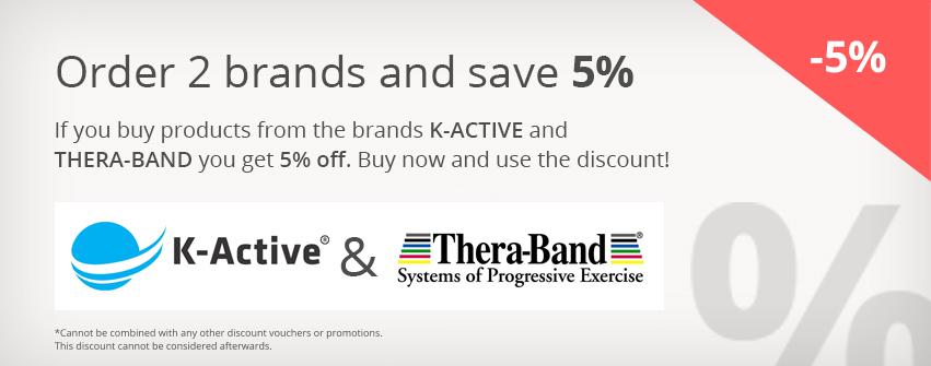 5% auf K-Active und Thera-Band