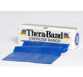 Thera-Band 5,5 m - blau (extra stark)